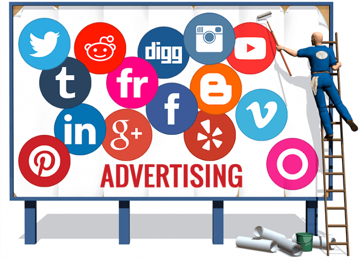 Social Media And Ads shopping